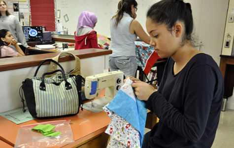 Club Spotlight: Sewing Club Helps Others