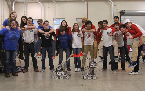 Robots Compete for the Top