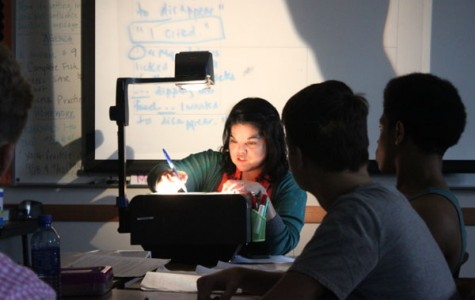 Projector Shortage Forces Teachers to Find Creative Solutions