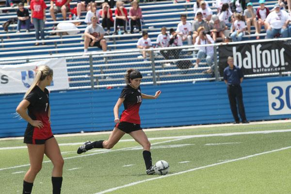 Girls soccer lose a heart-breaker in  state semi finals