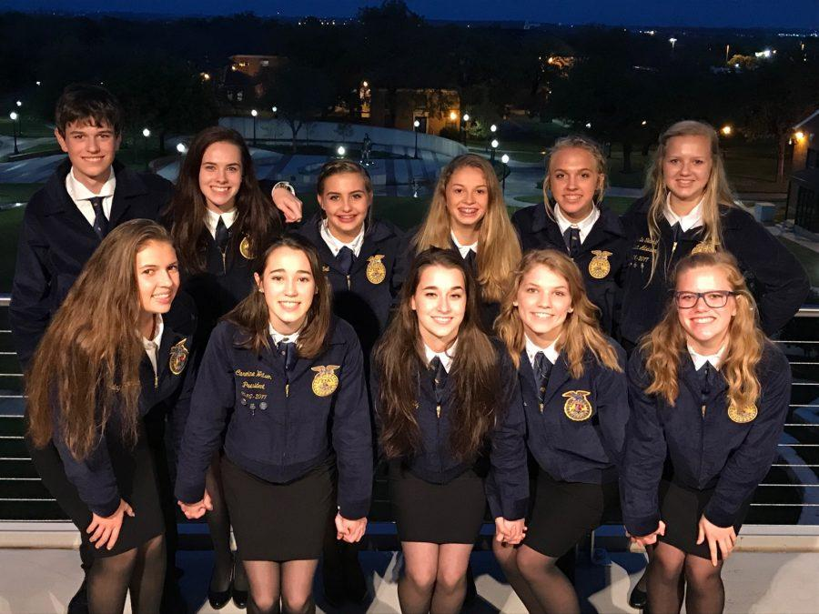 FFA kicks off competition season with success at district