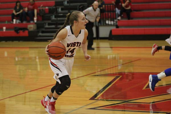 Ten in a row: Girls basketball wins over Westlake at home