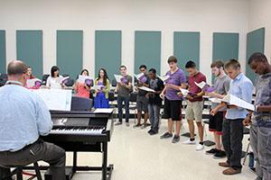 Choir Performs at District Showcase