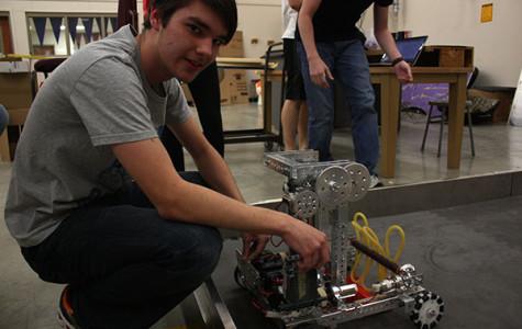 Building His Future: Junior Competes in DI, Robotics