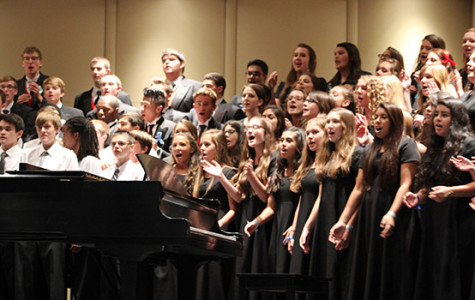 Choir Students Audition for Pre-Area
