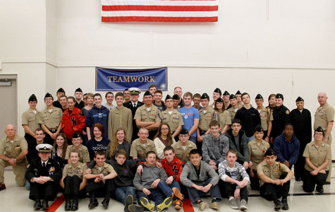 NJROTC Recognized by Capital Area Food Bank