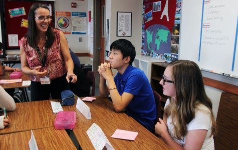 New Perspective: French Teacher Moves to States in High School