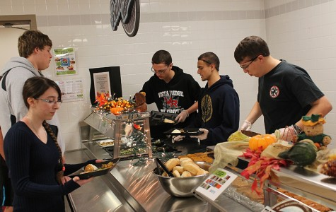 Cafeteria Staff Prepares More Than 1,500 Servings for Annual Feast