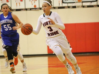 Girls basketball finish the regular season undefeated