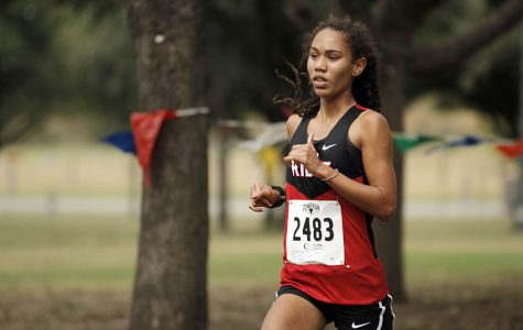 Helen Roddy wins 25-6A district cross country meet