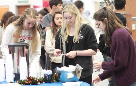 FCCLA Raises $1,800 for Blue Santa