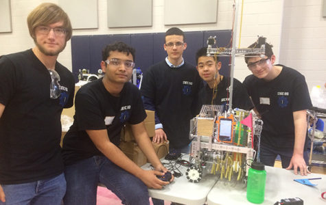 Robotics Advances to Super Regionals for First Time