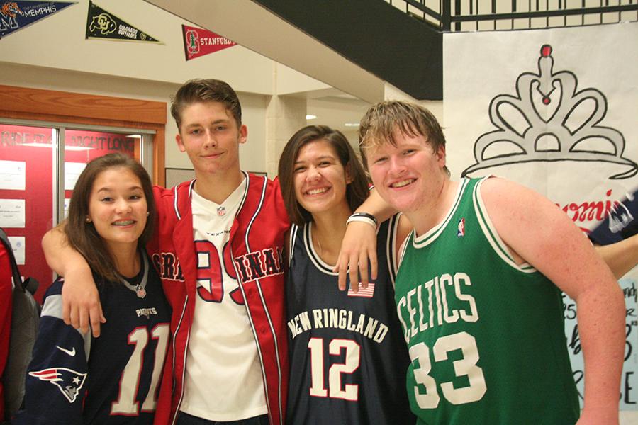 Spirit Week Theme: Sports Day