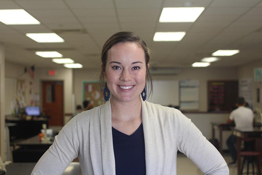 New Teacher Q&A: Shelby Stephans