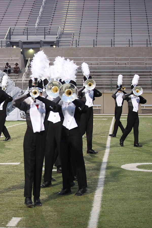 Life of a band student: students transition from marching to concert season