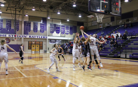 Varsity girls basketball advance through first-round of playoffs