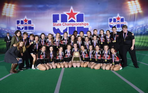 Cheer team places third at state