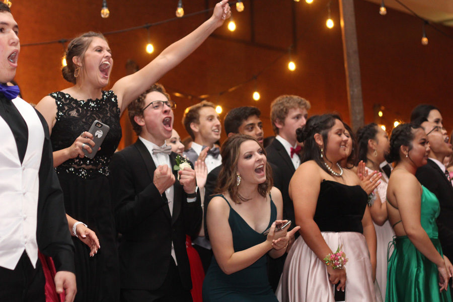 Upperclassmen Attend Prom On May 5 at Hyatt