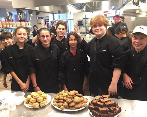Junior attends NYC Culinary Camp over summer