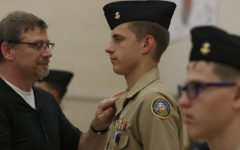 Cadets Get New Ranks at Annual Pinning Ceremony