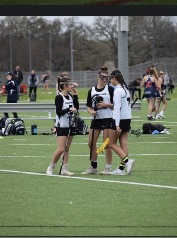 Cedar Park Girls Lacrosse Season Begins