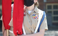 NJROTC Competes at Central Catholic Drill Meet