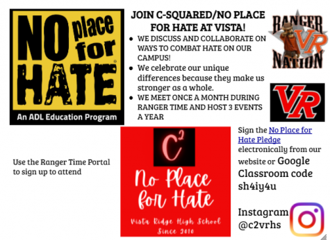 Club Spotlight: C-Squared/No Place For Hate